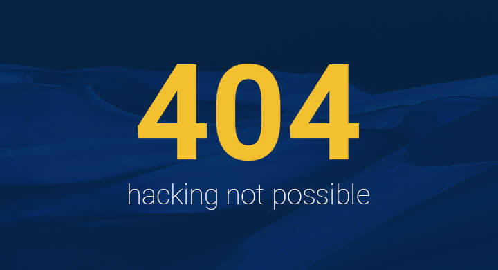 Proactive security makes hacking impossible