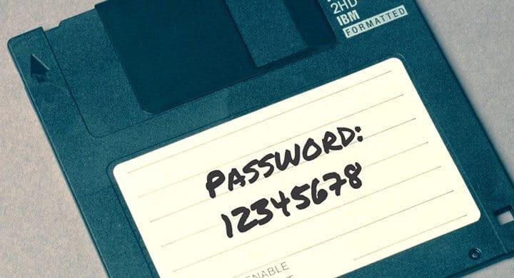 Choose a good password